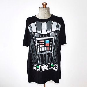 🎀3/$30 Star Wars Darth Vader Black Tee With Cape